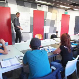 Nederlandse les vluchtelingen